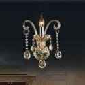 Kristall Wandleuchte Europäisch Kerzen Design für Schlafzimmer