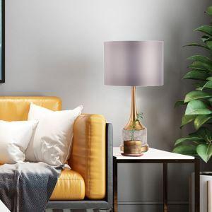 Elegante Tischleuchte Modern aus Marmor für Wohnzimmer