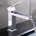 Moderne Waschtischarmatur Bad Einhandmischer Verchromt
