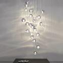 LED Kristall Pendelleuchte Modern für Wohnzimmer