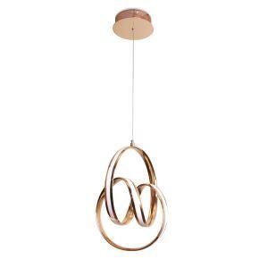 Led Pendelleuchte Modern Schlösser Design aus Acryl für Esszimmer
