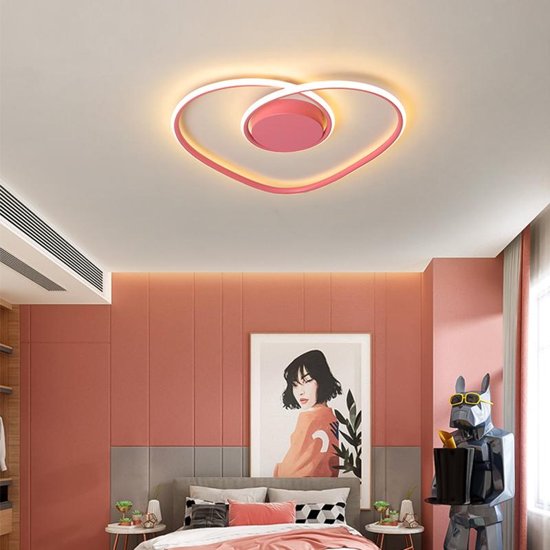 Led Deckenleuchte Romantisches Herz Design Fur Schlafzimmer