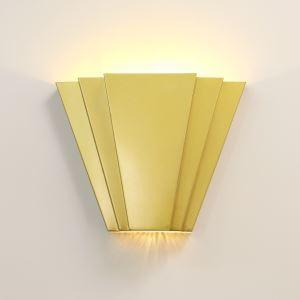 Led Wandleuchte Modern Fächer Design aus Eisen 2 flammig