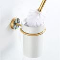 WC Bürstenhalter Wandmontage aus Messing