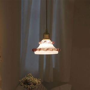 Moderne Pendelleuchte aus Glas 1 flammig für Schlafzimmer