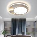 Led Deckenleuchte Modern Rundes Design in Weiß / Schwarz