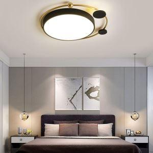 Led Deckenlampe Modern Rundes Design aus Eisen Aluminium