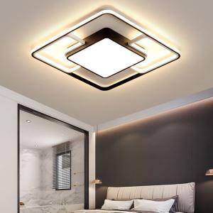 Led Deckenleuchte Modern Geometrisches Design für Wohnzimmer