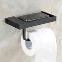 WC Papierrollenhalter Antik Messing Bad Accessoires Schwarz