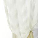 Moderne Gardine Transparent aus Polyester für Schlafzimmer (1er Pack)