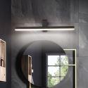 Led Wandleuchte Spiegelleuchte Eckiges Design aus Acryl in Schwarz/Weiß