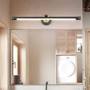 Led Wandlampe Moderne Wandleuchte aus Acryl in Schwarz/Gold