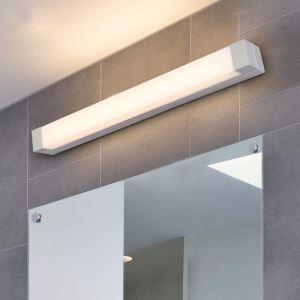 Led Wandlampe Spiegelleuchte aus Acryl in Weiß