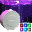 Led Projektor Lampe Sternhimmel USB Nachtlicht Stimmkontrolle