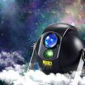 Led Projektionslampe Projektor Sternhimmel mit Fernbedienung in Schwarz