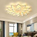 LED Deckenleuchte Blumen Design aus Acryl für Wohnzimmer