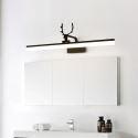 Led Wandlampe Spiegelleuchte Geweih Design in Schwarz/Weiß