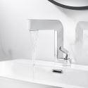 Moderne Waschbeckenarmatur Einhand für Badezimmer