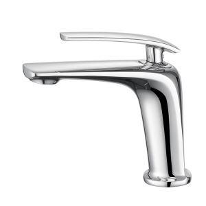 Wasserhahn Modern Einhand Mischbatterie aus Messing für Waschbecken
