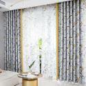 Verdunkelungsvorhang Pflanzen Design aus Polyester für Kinderzimmer (1er Pack)