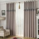 Verdunkelungsvorhang Nordischer Stil aus Polyester für Wohnzimmer (1er Pack)
