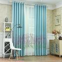 Vorhang aus Polyester Blumen Stickerei für Schlafzimmer (1er Pack)