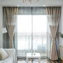 Vorhang aus Polyester Bäume Muster für Schlafzimmer (1er Pack)