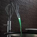 Led Waschtischarmatur Einhand für Badezimmer in Chrom