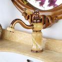 Waschtischarmatur Einhebel Mischbatterie Jade Design in Rosegold
