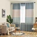 Moderner Vorhang Streifen Muster für Wohnzimmer (1er Pack)