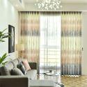 Vorhang Stilvoll Wiese Druck für Wohnzimmer (1er Pack)