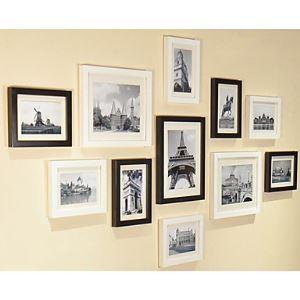 (EU Lager)Moderne Wand Bilderrahmen-11er Set