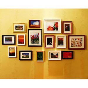 (EU Lager)Moderne Wand Bilderrahmen-15er Set