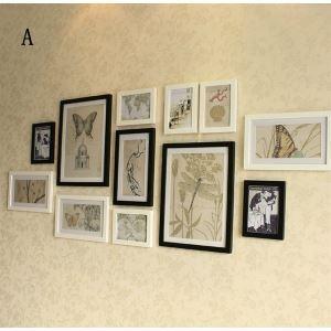 (EU Lager)Moderne Wand Bilderrahmen-12er Set