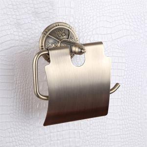 (EU Lager)Antike Öl eingerieben Bronze WC-Rollenhalter