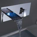 LED Wasserhahn Wandmontage