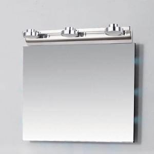 (EU Lager)Spiegelleuchte LED Wandleuchte Acryl Lampenschirm 2/3 flammig