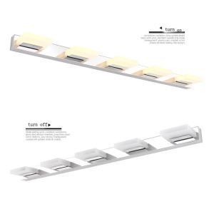 (EU Lager)Spiegelleuchte LED Wandleuchte Acryl Lampenschirm 8W/12W/16W/20W