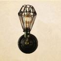Wandleuchte Landhaustil Eisen Wandlampe DIY Lampenschirm innen