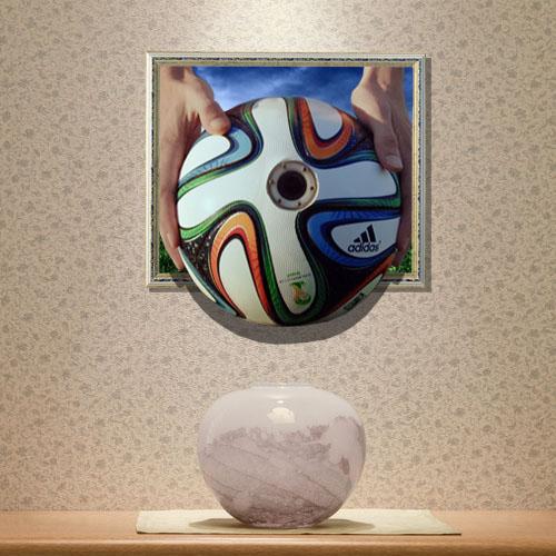 Schon Gunstig 3d Wandtattoo Fussball Weltmeisterschaft Pvc Fototapete