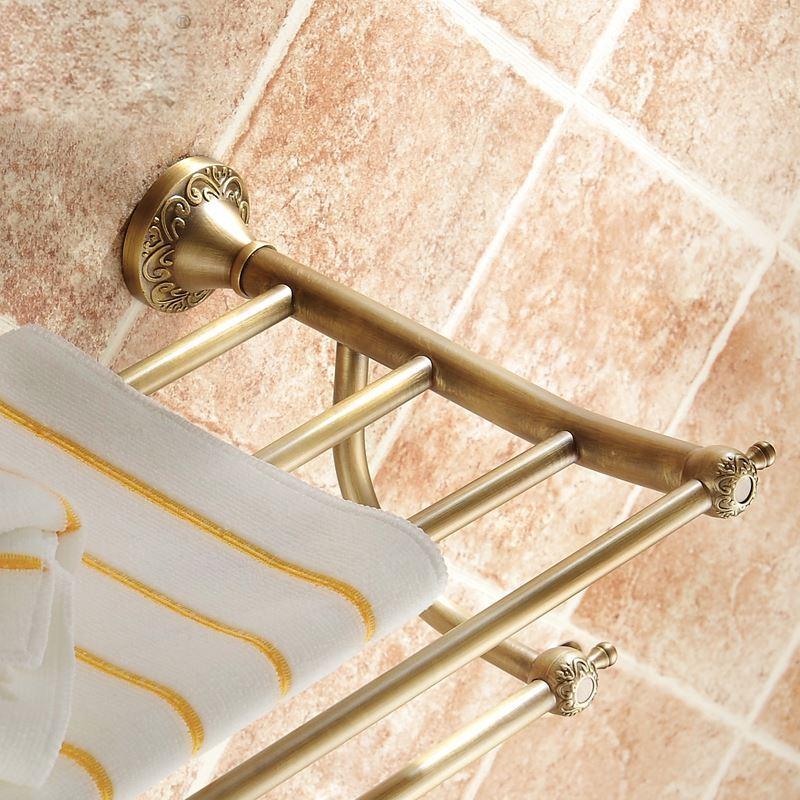 Handtuchhalter Bad Antik Messing Bad-Accessoires schönes für Badezimmer  kaufen