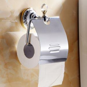 (EU Lager)WC Rollenhalter Modern aus Kupfer Badzubehör