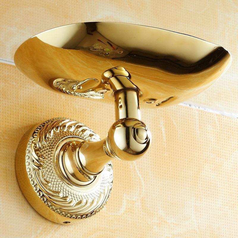seifenhalter seifenkorb modern ti pvd gold kupfer bad. Black Bedroom Furniture Sets. Home Design Ideas