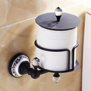 (EU Lager)Toilettenpapierhalter Antik Messing ORB Badzubehör