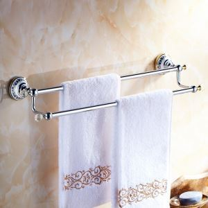 (EU Lager)Badetuchhalter Modern Kupfer Galvanisiert Bad-Accessoires