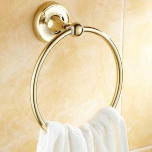(EU Lager)Handtuchring Bad Modern aus Kupfer Badzubehör