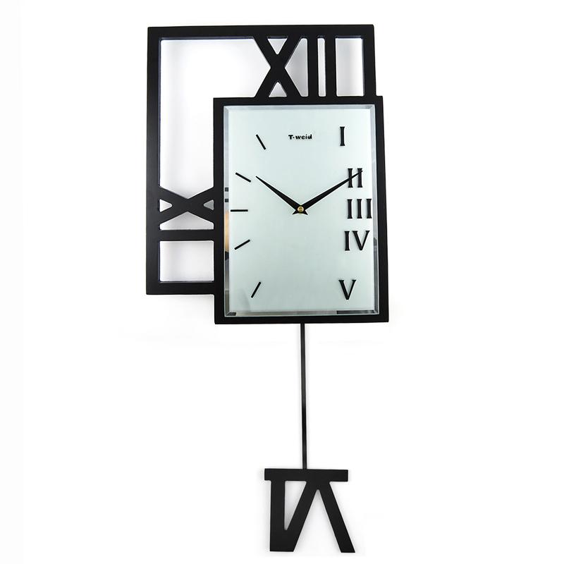 Moderne Wanduhren Design : wanduhr modern pendeluhr design lautlos schwarz ~ Watch28wear.com Haus und Dekorationen