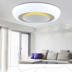 (EU Lager)LED Deckenleuchte Design Modern Acryl Rund Weiß