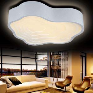 (EU Lager)LED Deckenleuchte Wolke Design Modern Acryl Weiß