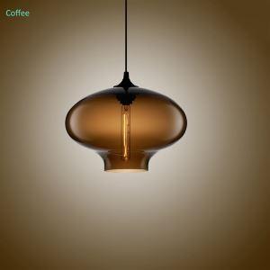 Hängeleuchte Glas Modern Oval Design